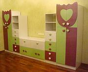 Мебель на заказ Луцк,  фасады МДФ,  кухни,  спальни,  прихожие,  детские