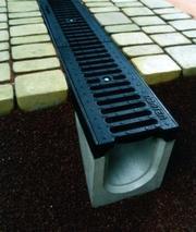 Система водовідведення,  водостоки,  бетонні жолуби Луцьк