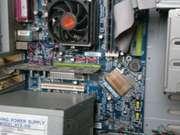 Офисный системник+клава+колонки+монитор+мышка