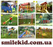 Ігрові дитячі майданчики від виробника,  дитячі спортивні комплекси