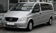 Лобовое стекло на Mercedes-Benz Vito CDI W639 с установкой