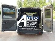 Установка заднего автостекла (распашонка) на Fiat Doblo 2000-