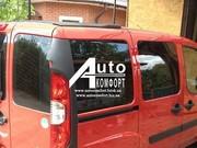 Задний салон,  правое окно,  короткая база на Fiat Doblo 2000-