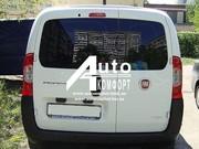 Установка заднего автостекла (распашонка) на автомобиль Fiat Fiorino,