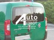 Заднее стекло (распашонка левая) с электрообогревом на Fiat Fiorino,  C