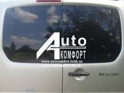 Установка заднего автостекла (распашонка) на Fiat Skudo,  Peugeot Exper