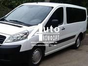 Установка бокового автостекла на Fiat Skudo,  Peugeot Expert,  Citroen J