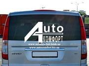 Установка заднего автостекла (ляда) на автомобиль Mercedes-Benz Vito 0