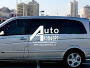 Передний салон,  левое стекло на автомобиль Mercedes-Benz Vito 03-