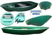 Лодка  стеклопластиковая СЛК-для прогулок и рыбалки .