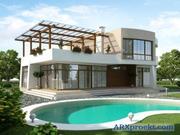 Пропонуємо нові проекти котеджів ,  будинків ,  дач і лазень.