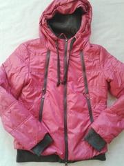 Рожева куртка,  ідеальний варіант на весну.