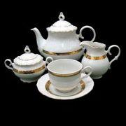 Сервиз чайный Офелия 505 Чехия - фарфор