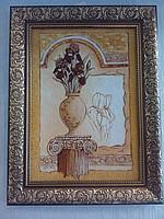 Картины из янтарной крошки