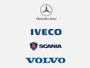 Запчасти к грузовым автомобилям Mercedes,  Iveco,  Volvo,  Scania