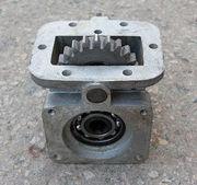 Коробка отбора мощности ГАЗ-3309 к НШ,  ручное включение,  ЧУГУН