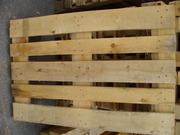 Новые деревянные поддоны собственного производства размером 1200*800мм