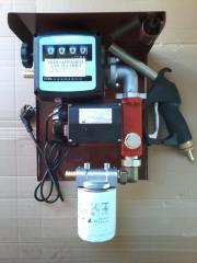 Мини заправка 220Вольт 35л/мин для перекачки дизтоплива.Гарантия