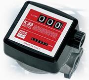 Механический счетчик-расходомер для дизтоплива К33 PIUSI(Италия) (20-120л/мин)