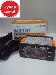 Контроллер температуры ELITECH ETC-974 (полный аналог ID-974,  2 датчик