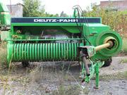Пресс-подборщик Deutz-Fahr HD490